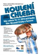 Plakát Koulení chleba 2013
