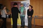 Setkání v Krajské vědecké knihovně v Liberci a přední cen nejlepším knihovníkům - uprostřed Alena Matěchová ze Semil