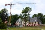 Fotografie z průěbhu stavby environmentálního centra