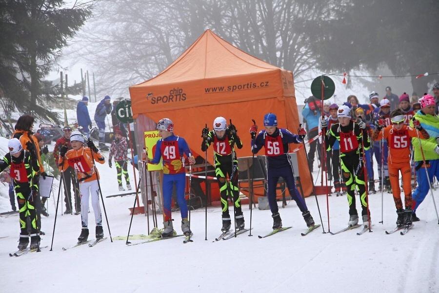 Přebor Prahy v běhu na lyžích na tratích v Benecku<br />Autor: Jiří Novák
