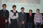 Vyhlášení ankety Sportovec Turnova za rok 2013 - vítězné družstvo dospělých