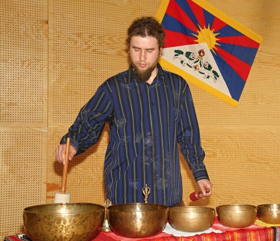 Týden pro Tibet ve Vrchlabí<br />Autor: Jiří Novák