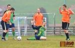 Fotbal okresní přebor, utkání Sokol Nová Ves - FK Košťálov B
