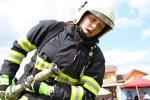 Soutěž TFA neboli Nejtvrdší hasič přežije U Učiků ve Vrchlabí