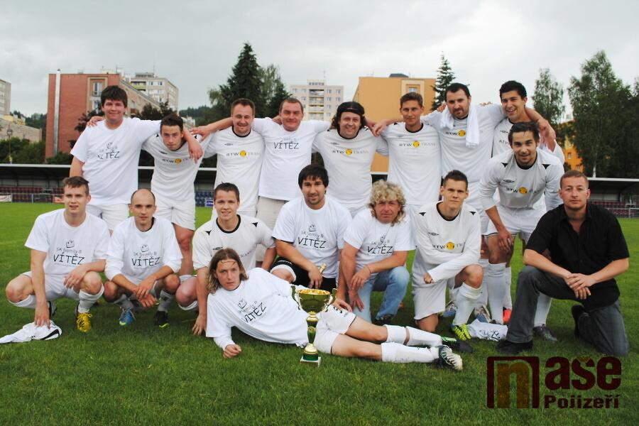Okresní fotbalová soutěž, utkání Semily B - Sport Future Studenec<br />Autor: Petr Ježek
