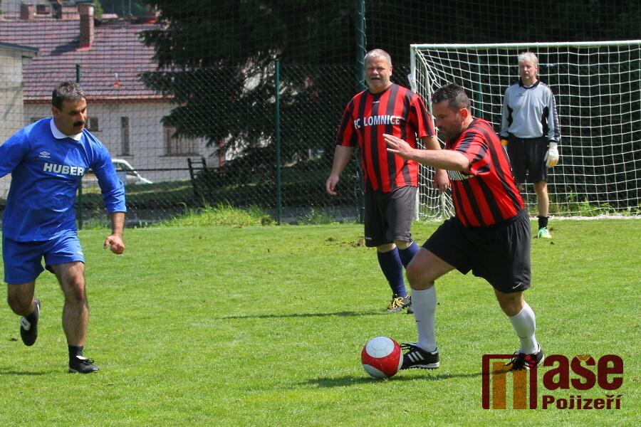 Fotbalový turnaj O pohár starosty obce Slaná<br />Autor: Zdeněk Devátý