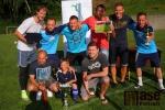 Fotbalový turnaj O pohár starosty obce Slaná - vítězný tým Bozkova
