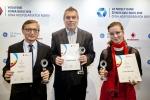 Otakar Válek – Aktivit (2.místo), Jaroslav Tunhöfer – AJETO (1.místo), Hana Palečková – RATTAY kovové hadice (3.místo)
