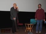 Režisér Václav Vorlíček v semilském kině Jitřenka