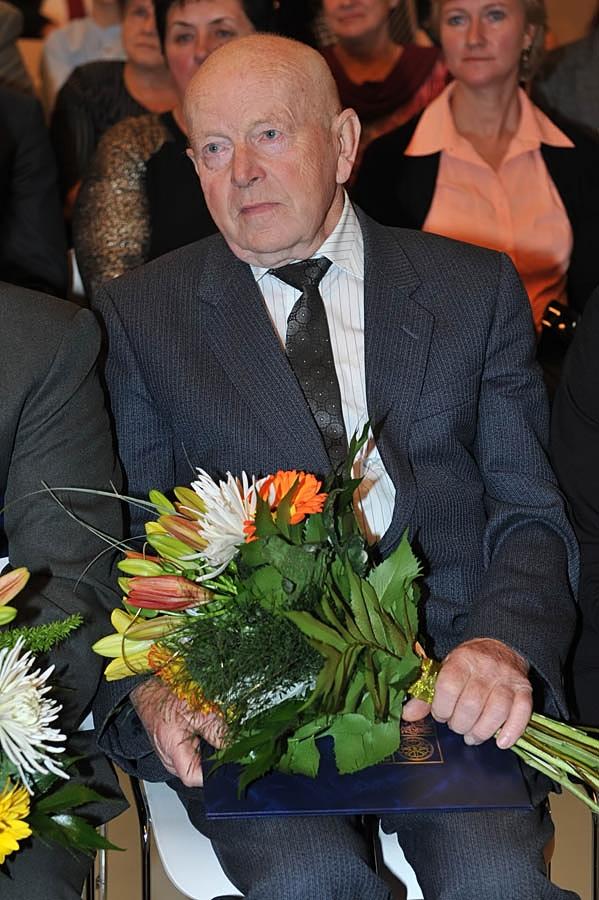 Předávání pocty hejtmana Libereckého kraje 2014 - Vladimír Svoboda<br />Autor: Archív KÚ Libereckého kraje