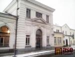 Opravená budova nádraží ČD v Turnově