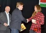 Vyhlášení ankety Sportovec města Vrchlabí za rok 2014 - vítězná Eva Samková