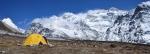 Základní tábor pod Kanchenjungou