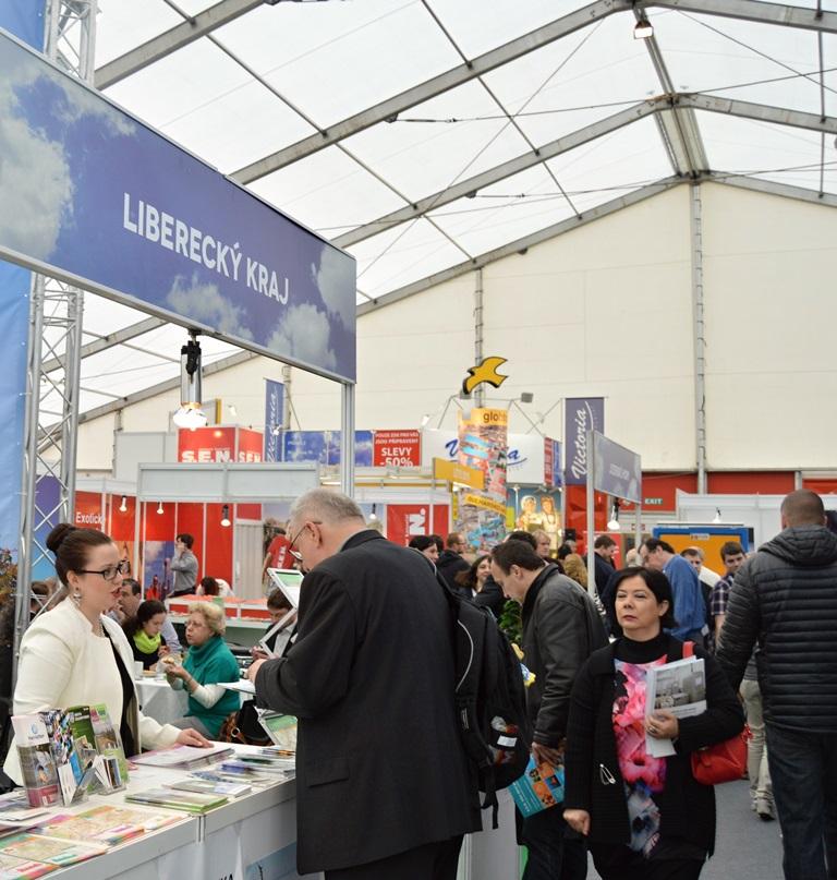 Liberecký kraj naveletrhu cestovního ruchu Holiday World 2015<br />Autor: Archív KÚ Libereckého kraje