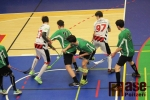 Čtvrtfinále play off Národní ligy mužů ve florbale, utkání TJ Turnov - FbC 98 Chomutov -