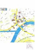 Uzavírka Železný Brod - detail Malé náměstí