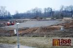 Stavba zimního stadionu v turnovské Maškovce