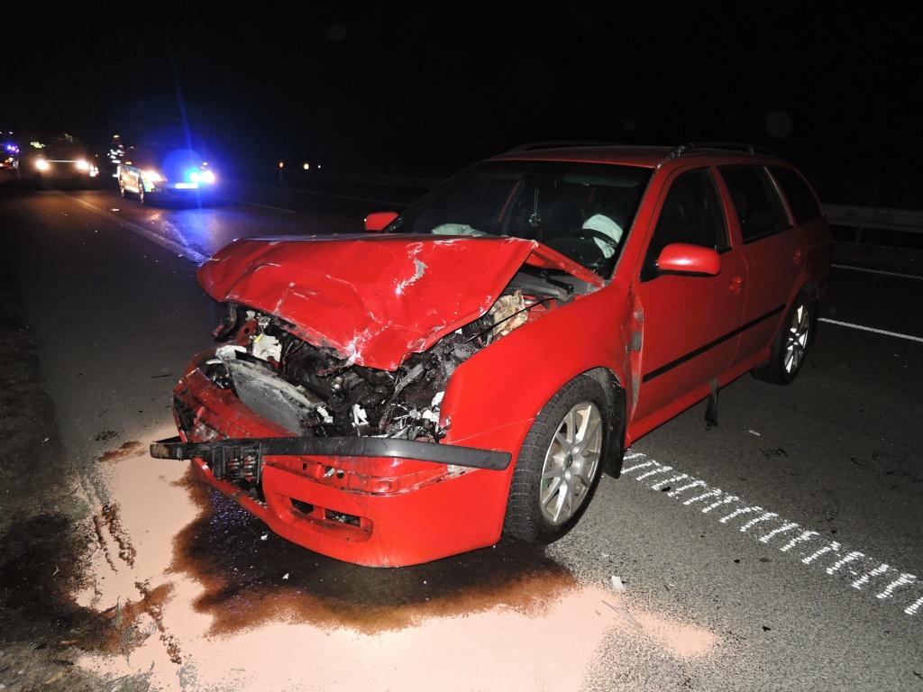 Dvě dopravní nehody na silnici R10 v Příšovicích<br />Autor: HZS Libereckého kraje, stanice Turnov