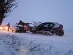 Dopravní nehoda s vyproštěním Stružinec