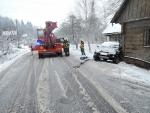 Dopravní nehoda Slaná u Semil