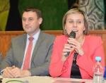 Setkání v Bozkově s náměstkyní ministra vnitra pro veřejnou správu a legislativu Janou Vildumetzovou