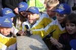 Slavnostní poklepání základní kamene v Maškově zahradě v Turnově