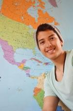 Mexický student Leonel Leyva Ortiz