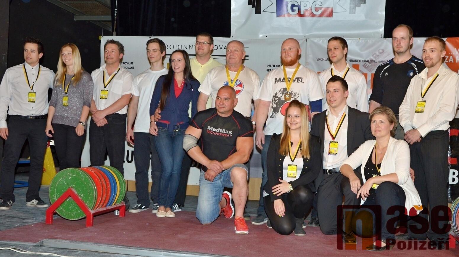 Pořadatelský tým Mistrovství České republiky v benchpressu