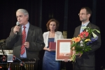 Georgios Karadzos přebírá Cenu města