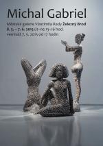 Výstava sochaře Michala Gabriela v Městské galerii Vlastimila Rady v Železném Brodě