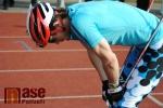 Mistra světa v běhy na lyžích Martin Koukal jel v Turnově závod na inline lyžích