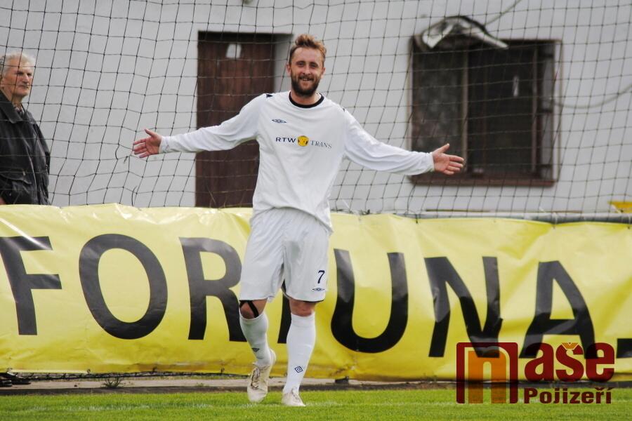 Okresní fotbalový přebor, utkání FK Přepeře - Sokol Mříčná<br />Autor: Petr Ježek