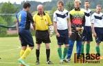Okresní fotbalový přebor, utkání Sokol Stružinec - Sokol Nová Ves