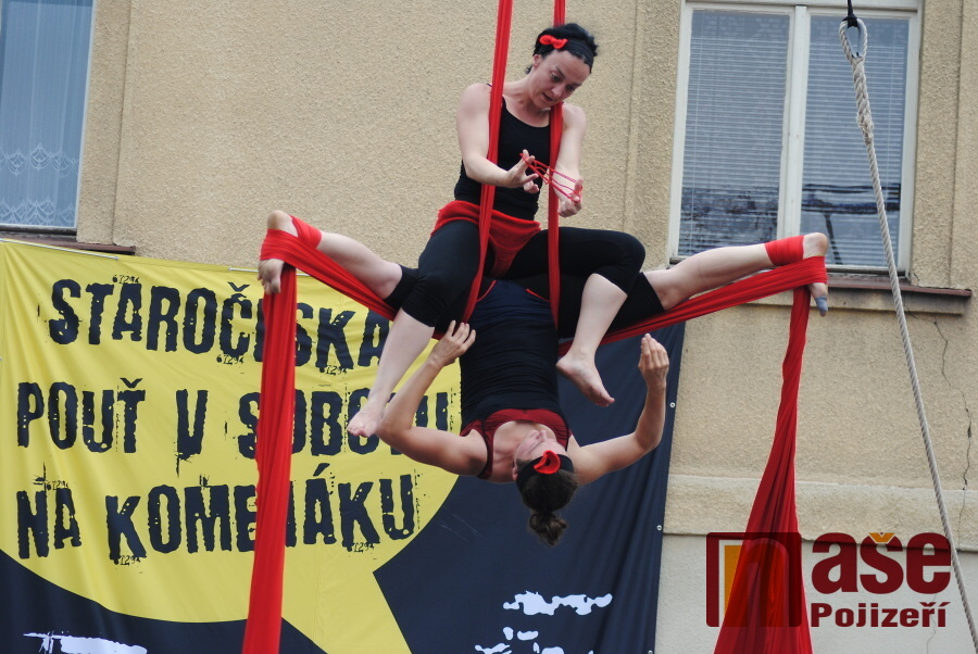 Staročeská pouť v Semilech 2015 - Cirkus TeTy v zápletu<br />Autor: Petr Ježek