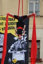Staročeská pouť v Semilech 2015 - Cirkus TeTy v zápletu