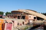 Stavba zimního stadionu v Turnově