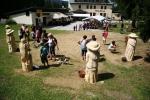 Svatoanenské dřevosochání v Harrachově 2015