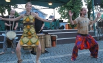 Obrazem: Folklorní ozvěny oživily podesáté vrchlabské náměstí