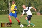 Okresní fotbalový přebor, utkání Nová Ves - Jilemnice B
