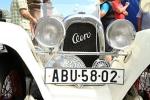 Zastávka na jilemnickém náměstí 34. Evropského srazu přátel historických vozů Aero