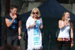 Semilský pecen 2015 - zpěváci muzikálu Mamma Mia!