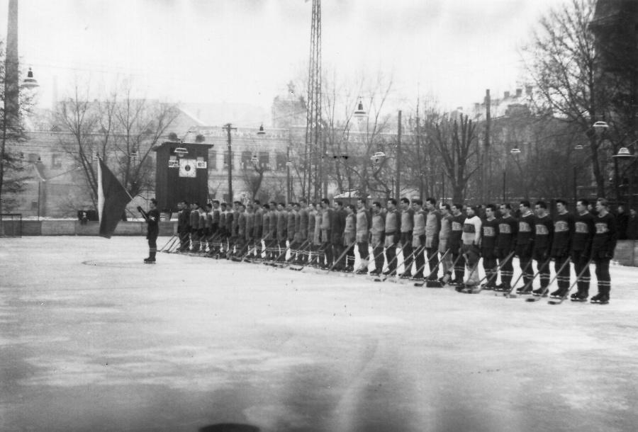 Poslední Koškův turnaj v Turnově 5. 2. 1952<br />Autor: Archiv Muzea Českého ráje a Pavla Mlejnka