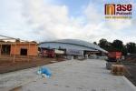 Aktuální stav výstavby zimního stadionu v Turnově