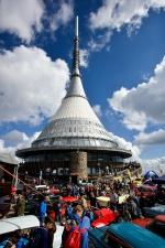 42. výročí otevření vysílače a horského hotelu Ještěd