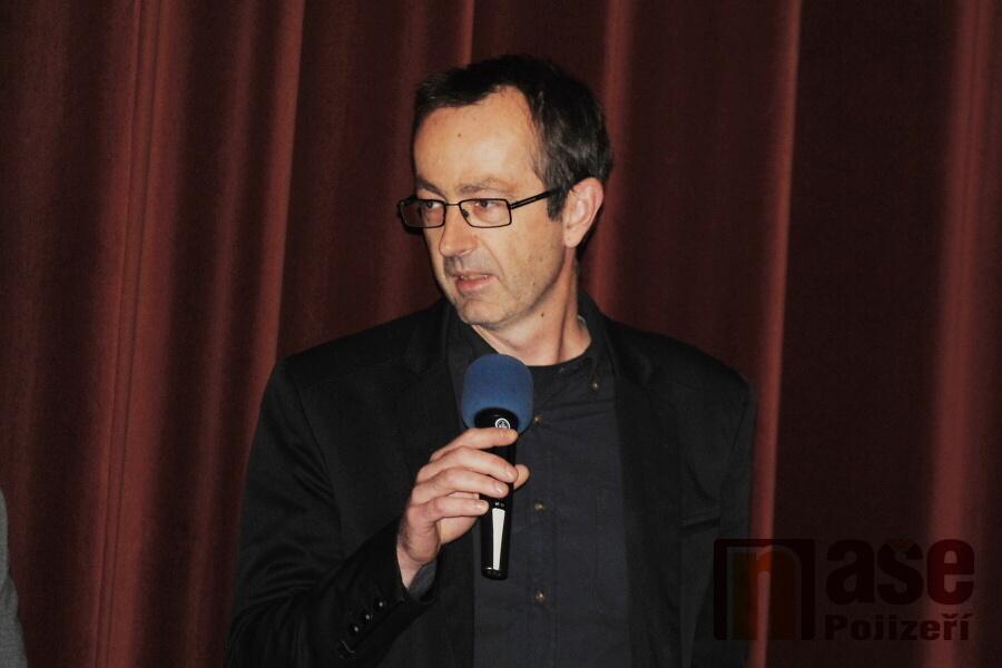 Režisér Petr Zelenka v semilském kině Jitřenka<br />Autor: Petr Ježek