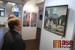 Výstava Jaroslava Klápště v galerii Detesk v Železném Brodě