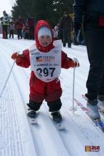 FOTO: Nejmladší lyžaři soutěžili na Lízátkovém běhu
