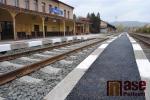 Zrekonstruované nádraží v Semilech