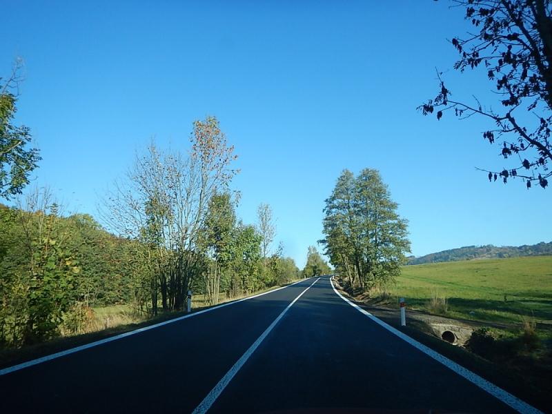 Silnice Loktuše - Loučky<br />Autor: Archiv KÚ Libereckého kraje