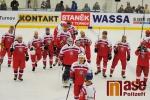 FOTO: Čeští hokejoví veteráni pokřtili turnovský stadion tuctem gólů
